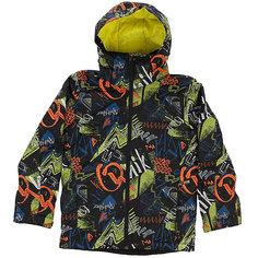 Куртка утепленная детская Quiksilver Mission Pr Yo J B Snjt Black Thunderbolt Ki