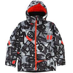 Куртка утепленная детская Quiksilver Mission Pr Yo J B Snjt Arkaid Black & White