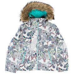 Куртка утепленная детский Roxy Jet Ski Girl G Snjt Bright White_hackney