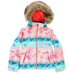 Куртка утепленная детская Roxy Jet Ski Girl G Snjt Neon Grapefruit_sola