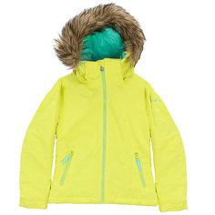 Куртка утепленная детская Roxy Jet Ski So Girl G Snjt Lemon Tonic_gana Emb