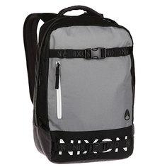 Рюкзак Nixon Del Mar Backpack Black/Dark Gray