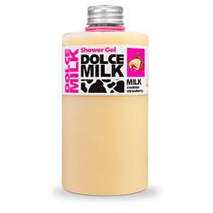 DOLCE MILK Гель для душа Молоко и сливочное печенье с клубничной начинкой 300 мл
