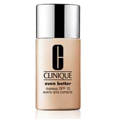 CLINIQUE Тональный крем для кожи, склонной к гиперпигментации Even Better Makeup SPF 15 № 03 Ivory, 30 мл