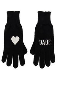 Перчатки без пальцев babe - 360CASHMERE