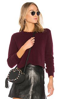 Короткий свитер с рваными краями - Autumn Cashmere