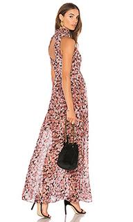 Платье-макси со сборкой на воротнике - BCBGeneration