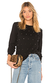 Украшенный свитшот embellished sweatshirt - Black Orchid