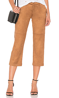 Suede cropped pant - David Lerner