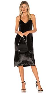 Бархатное платье на шлейках nia - Equipment