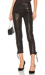 Укороченные брюки lace up - FRAME