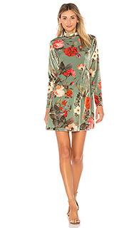 Мини платье velvet - FARM