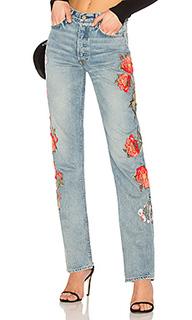 Прямые джинсы helena - GRLFRND