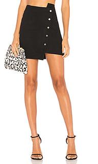 Асимметричная юбка с пуговицами - J.O.A.