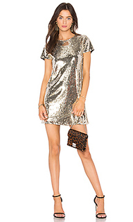 Платье с пайетками soleil - Line & Dot
