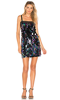 Мини платье paillette sequin - MILLY