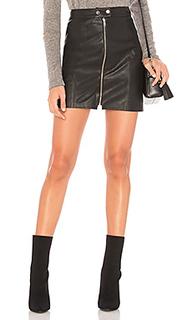 Кожаная мини-юбка gibson - n:PHILANTHROPY