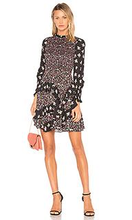 Платье со смешанным принтом - Rebecca Taylor