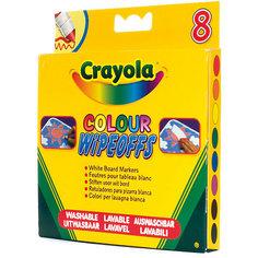"""Фломастеры """"8 цветов радуги"""" для белой доски, Crayola"""