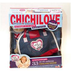 Чихуахуа Джинсовый стиль с сумкой, Simba