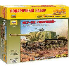 """Подарочный набор """"Самоходка """"ИСУ-152"""", Звезда"""