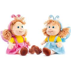 Кукла-бабочка в голубом, музыкальная, LAVA