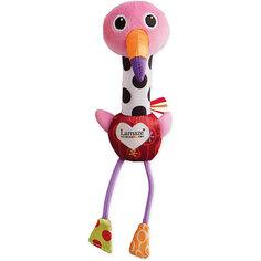Мягкая пищалка Веселый Розовый Фламинго, Lamaze