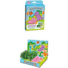"""Набор для выращивания """"Живая открытка"""" - Динопарк Happy Plant Бумбарам"""
