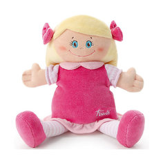 Мягкая кукла в малиновом платье, 24 см, Trudi