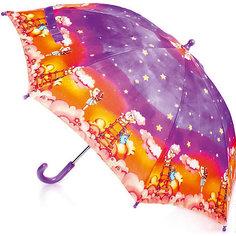 """Зонт-трость, детский, рисунок """"Звездное небо"""", без светодиодов Zest"""