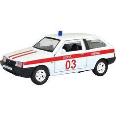 """Машинка """"Lada 2108"""" скорая помощь 1:36, Autotime"""