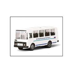 """Машинка """"ПАЗ-32053"""" муниципальный 1:43, Autotime"""