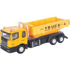 """Машинка """"Construction Truck"""" строительный самосвал 1:48, Autotime"""