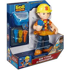 Большая фигурка с аксессуарами Fisher-Price Боб-строитель Mattel