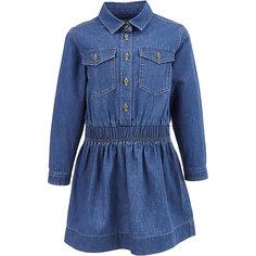 Джинсовое платье Button Blue для девочки
