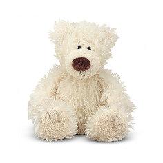 """Мягкая игрушка Melissa&Doug """"Белый Мишка"""", 13 см"""