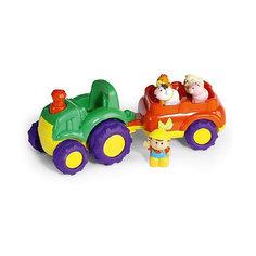 """Игровой набор Keenway """"Трактор и трейлер"""""""