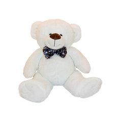 Мягкая игрушка Button Blue Мишка Марвин белый, 34 см