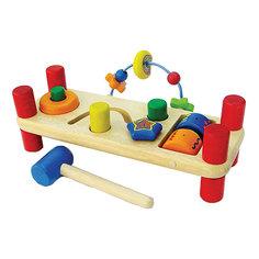 """Развивающая игрушка Im Toy """"Деревянная скамейка"""""""