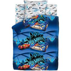 Комплект постельного белья 1.5 бязь Hot Wheels (70х70) Найт Сити Непоседа