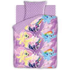 Комплект постельного белья 1.5 бязь My Little Pony (70х70)  Небесные пони Непоседа