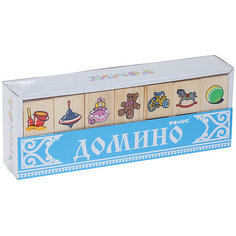 """Деревянное домино Томик """"Игрушки"""""""