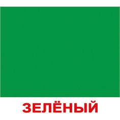 """Набор обучающих мини-карточек Вундеркинд с пелёнок """"Цвет"""" 20 штук"""