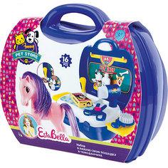 """Игровой набор EstaBella """"Я люблю свою лошадку"""", в чемоданчике"""