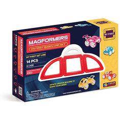 """Магнитный конструктор Magformers """"My First Buggy, красный"""""""