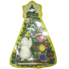 "Новогодний набор для росписи Magic Time ""Снеговик с елочкой"""