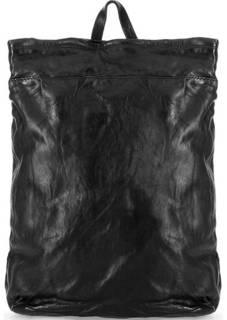 Черный кожаный рюкзак Campomaggi