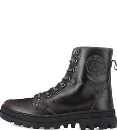 Кожаные ботинки на шнуровке Palladium