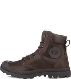 Демисезонные ботинки из нубука Palladium