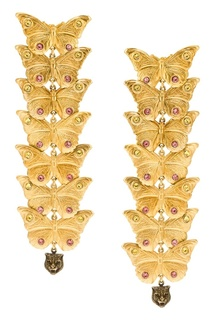 Серьги с кристаллами Gucci